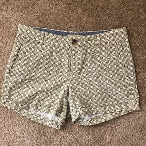 Banana Republic Print Shorts